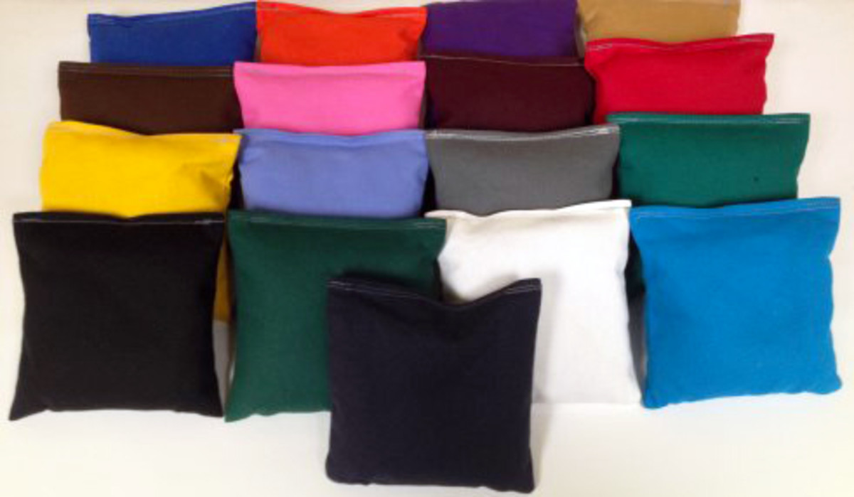 Duck cloth comes in a lot of different colors.