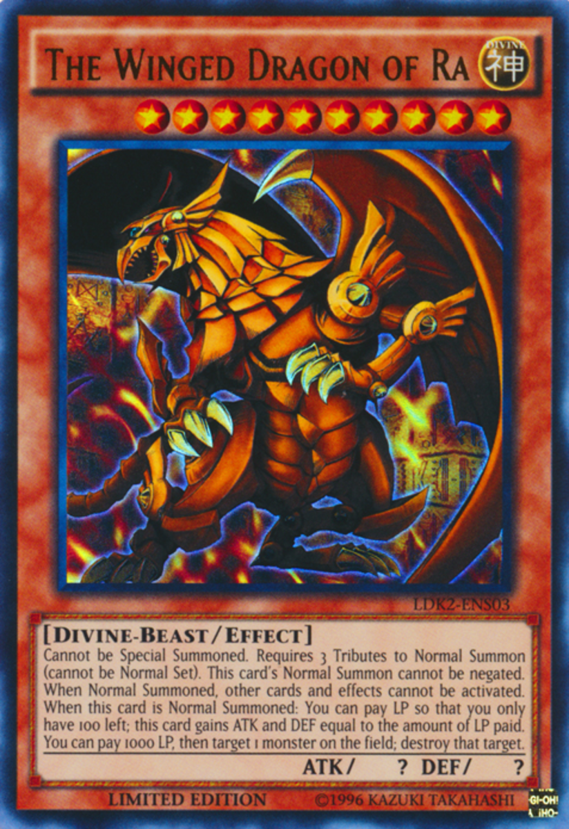 Yu-Gi-Oh: Egyptian God Card Countdown | HobbyLark