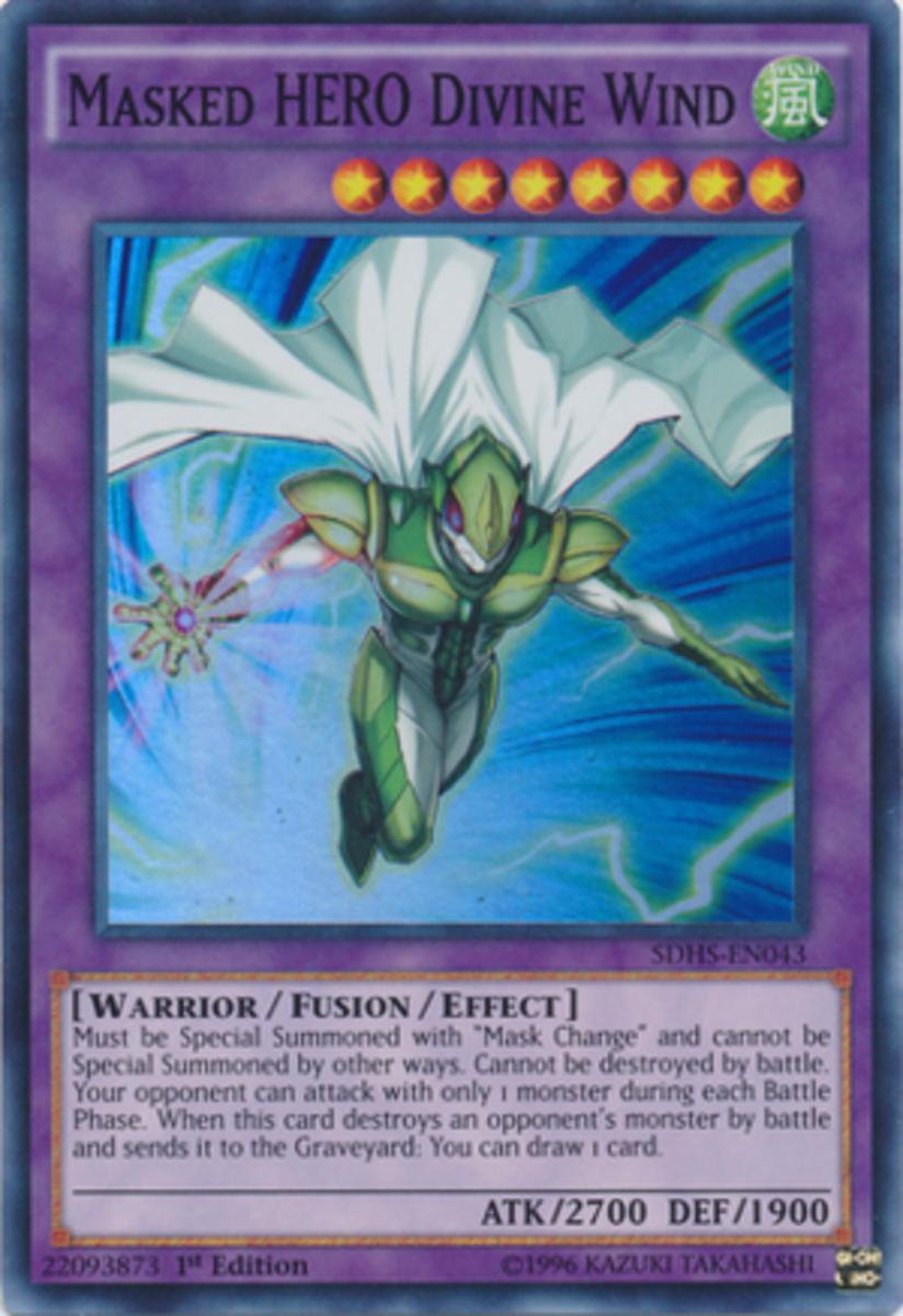 Masked HERO Divine Wind