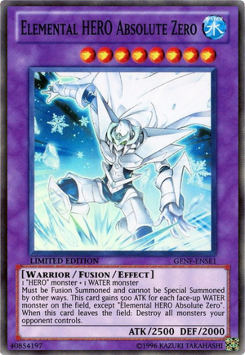 Elemental HERO Absolute Zero