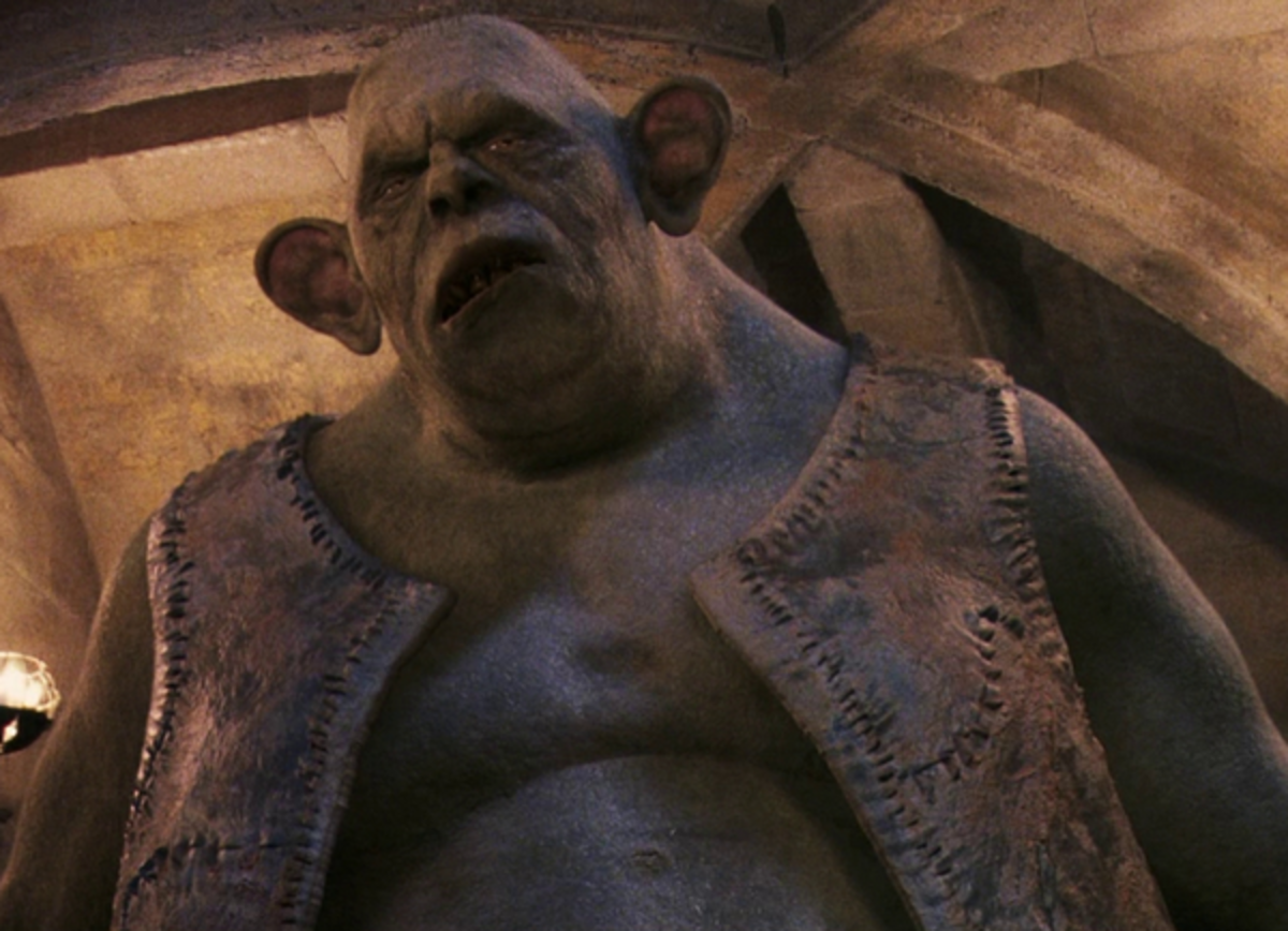 The version that appeared in Sorcerer's Stone is a Mountain Troll.