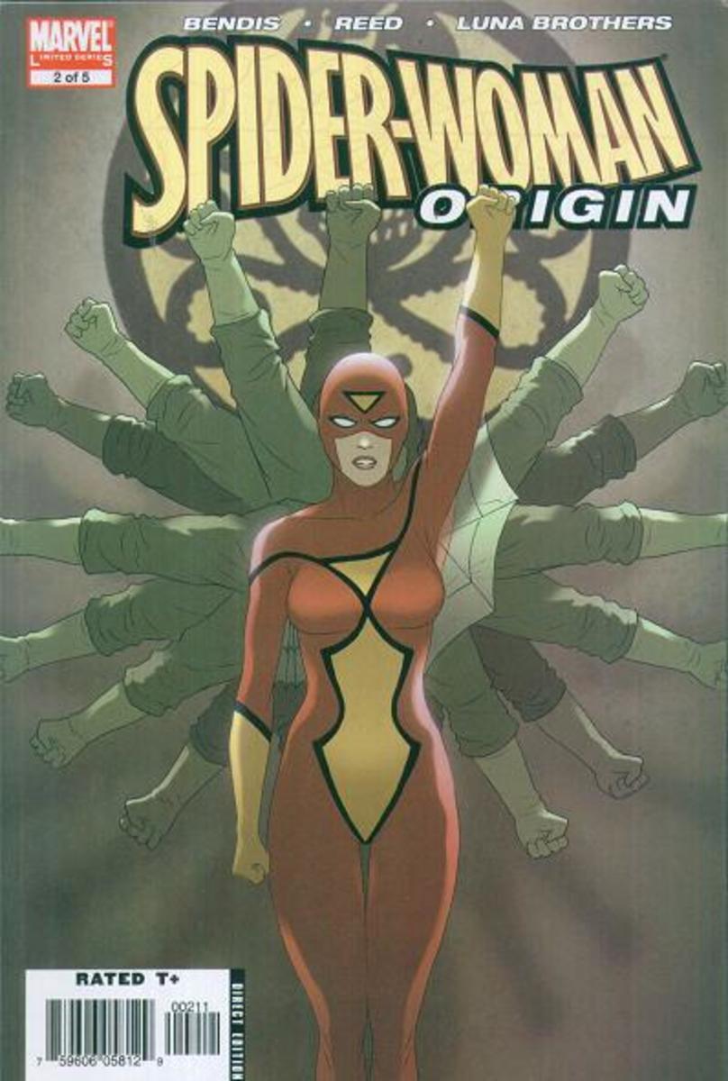 Spider-woman was originally in Hydra