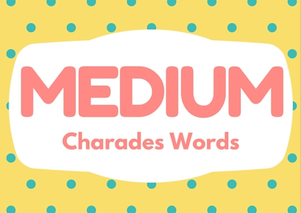 150+ Fun Charades Words and 5 Variations That Spice Up the