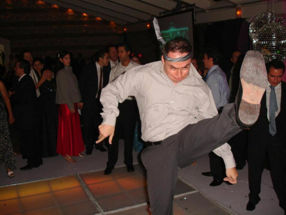 Getting drunk while salsa dancing is not cool because you probably won't be dancing salsa