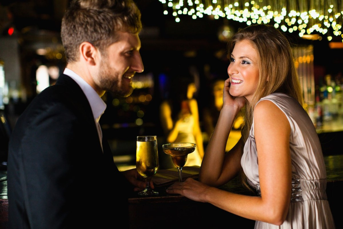 If a woman is clearly on a date with another man, don't go around asking her to dance and interrupting her evening