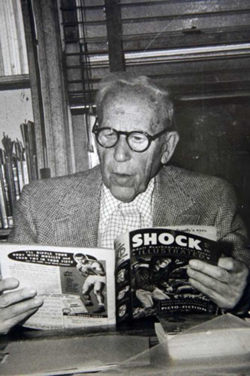 Fredrick Wertham - a man so horrible that he was naturally devolving to be Doctor Sivana.