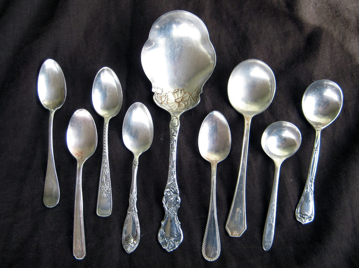 A variety of silverplate can be beautiful and charming.