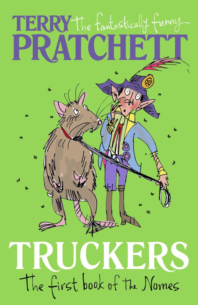 "Truckers is the first book in the ""Bromeliad"" Trilogy."