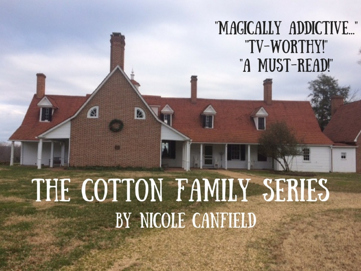 Sotterly Plantation in Maryland is the historic (and spooky) inspiration for the Cotton Family Plantation.