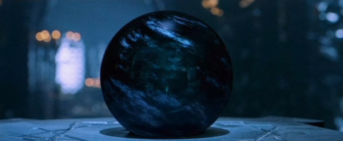 The Palantir seeing stones were brought into Middle-earth during the Second age and played a major role in the events of the Third.  However they were first made ages ages by Feanor.