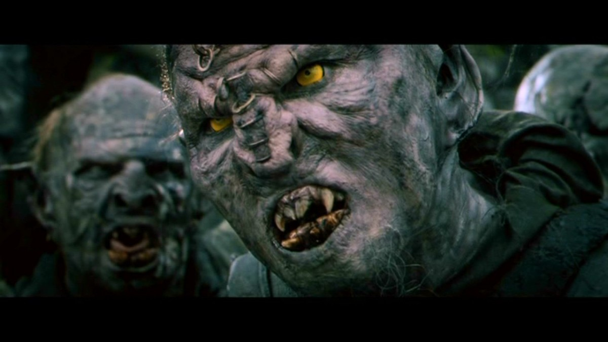 From New Line Cinema.  Ugly in both appearance and spirit, orcs are not only the unanimous target for everyone else' hate, but hate everyone else just as much.