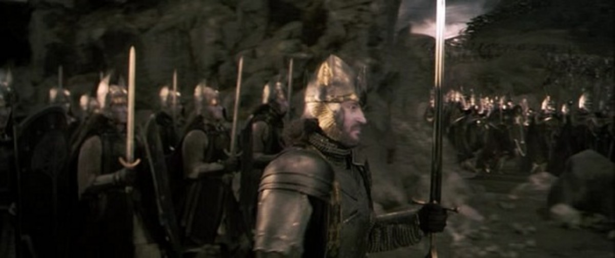 From New Line Cinema.  There are many branches of humanity in Middle-earth, but none were more powerful, respected, or feared as much as the Numenoreans and their Dunedain descendants.