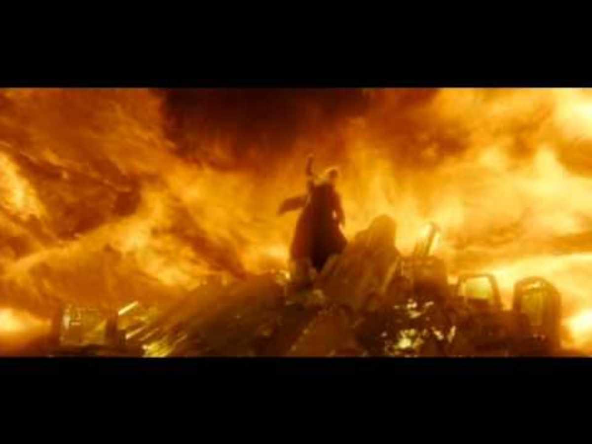 Dumbledore using Firestorm