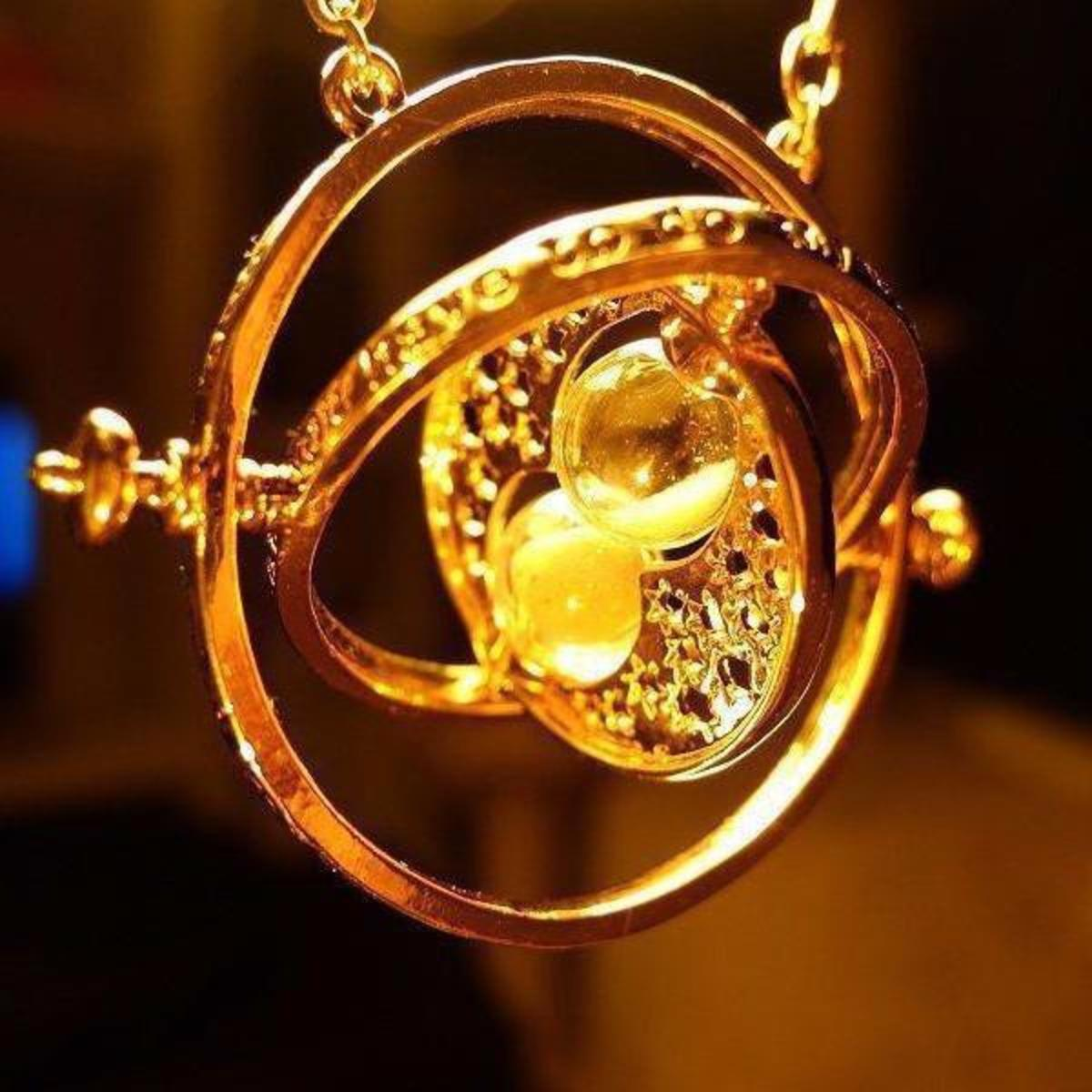 A Time-Turner produces a similar effect to the Hour-Reversal Charm