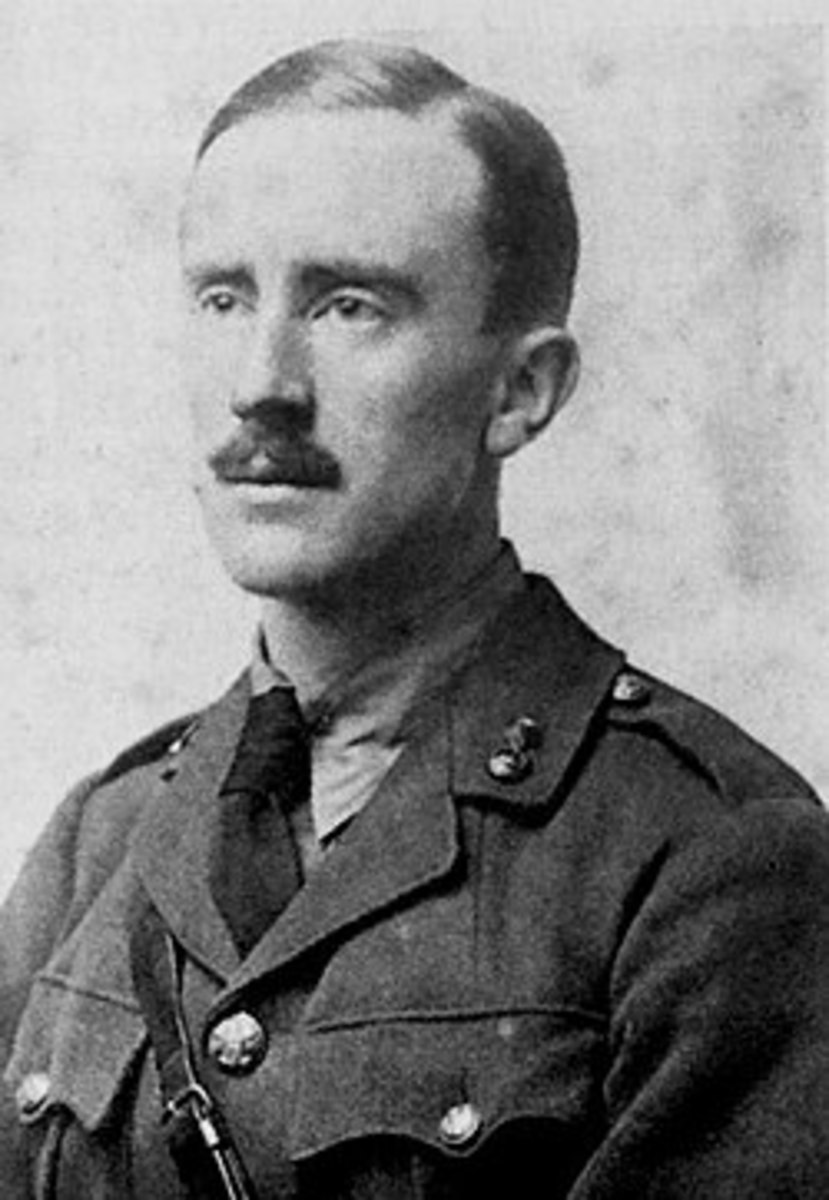 J.R.R. Tolkien in the Royal Army