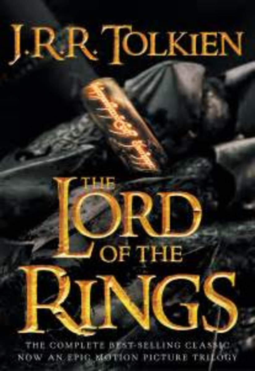 """Book cover for """"Lord of the Rings"""""""