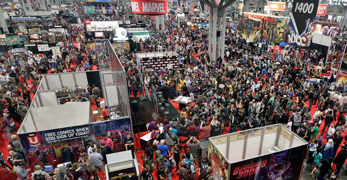 The New York Comic Con is the second largest money maker for the city.