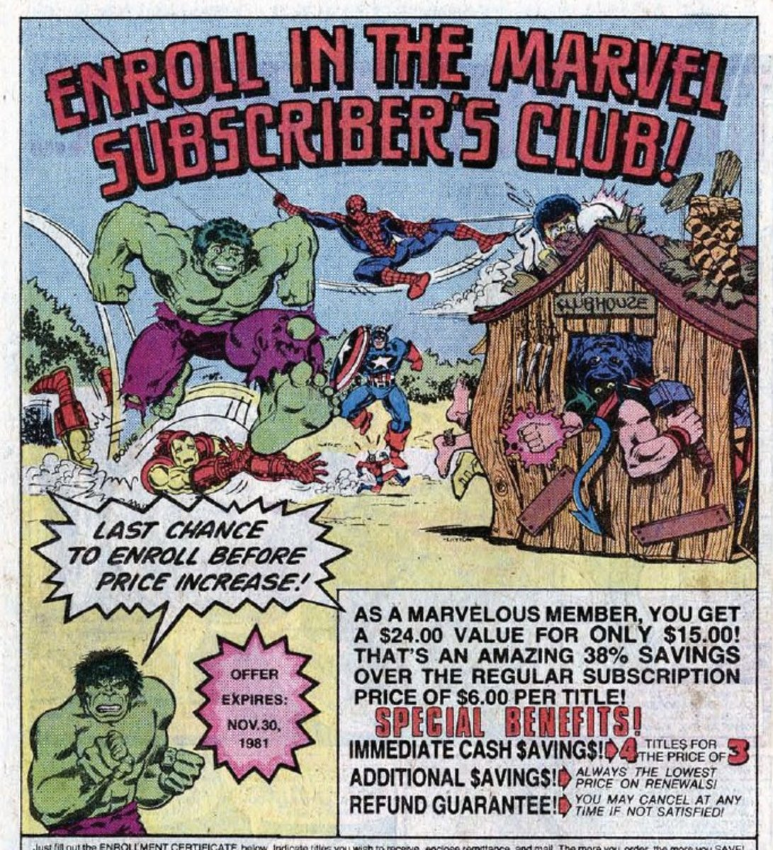 These were the ads we saw back in the day. There is some savings to these.