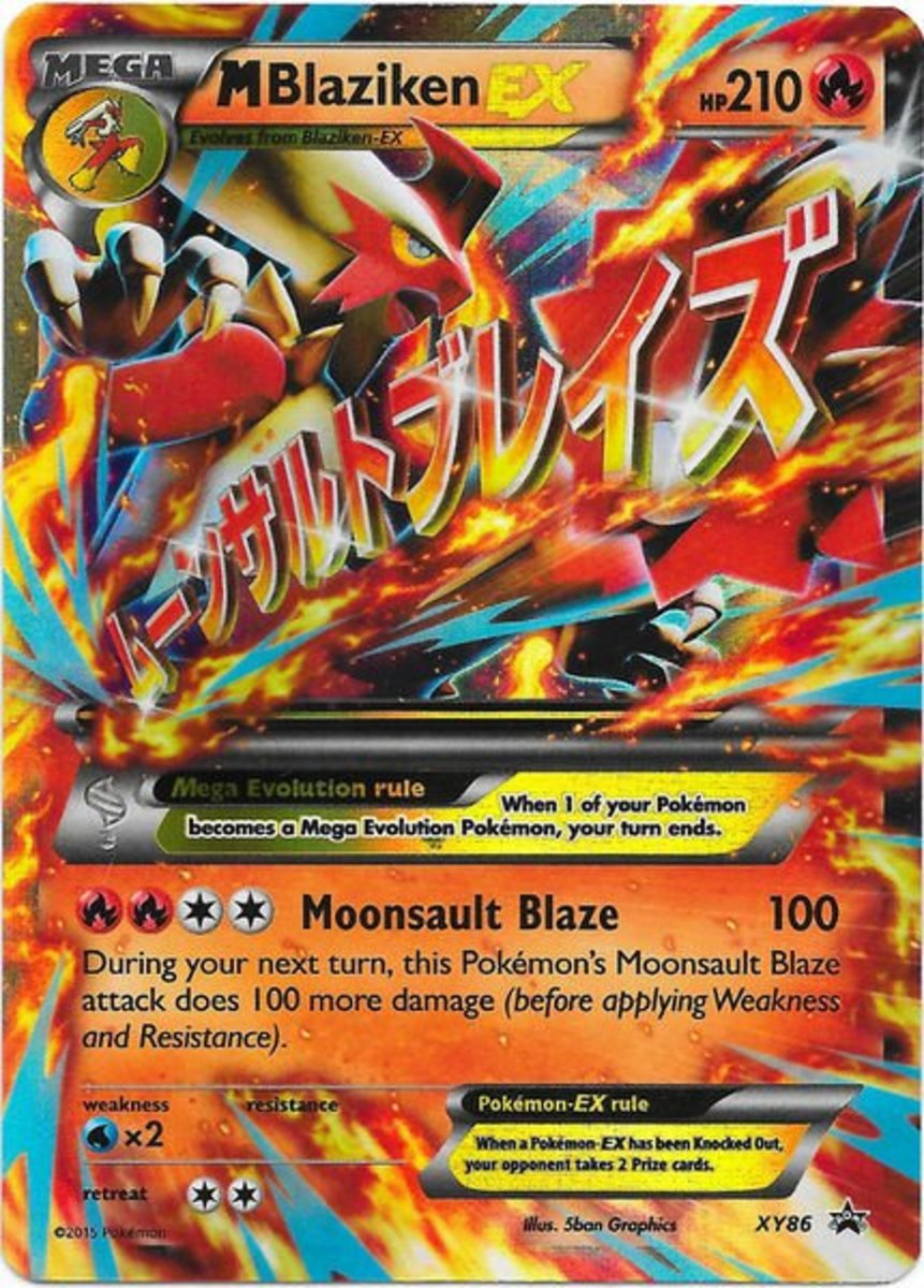 10 More Awesome Mega Pokemon Cards