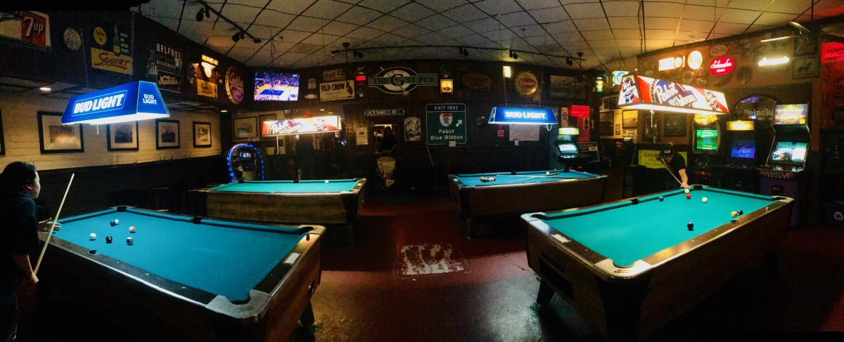 A Woman's Guide to 8 Ball at a Billiards Bar