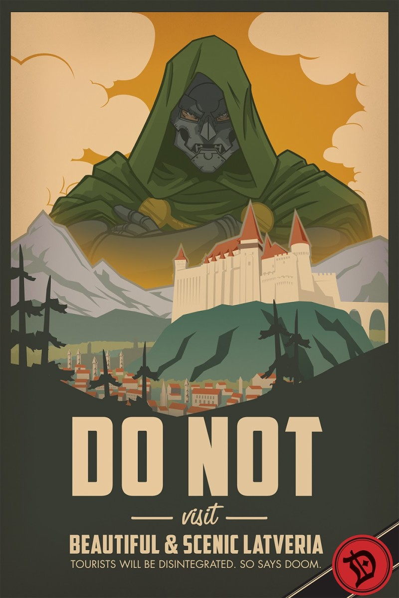 Tourism is not a priority in Latveria