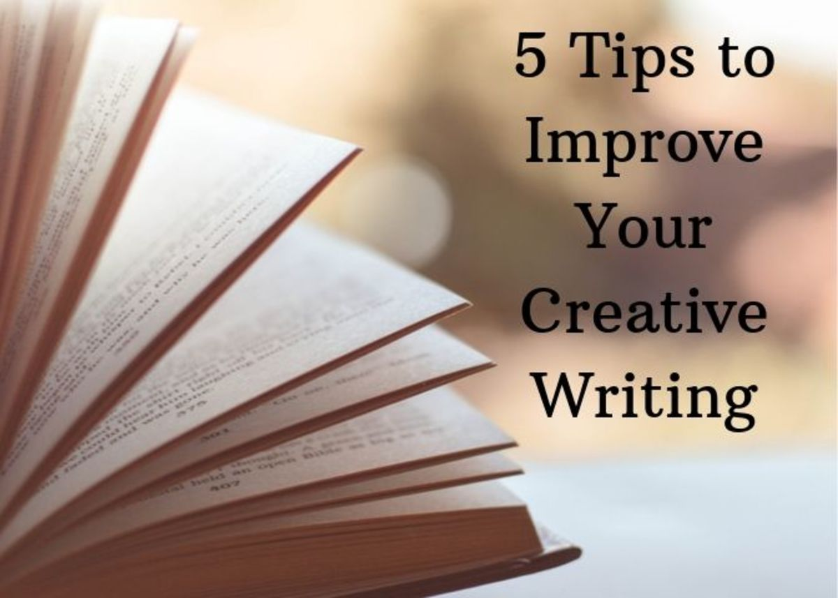 Here are five concepts that can help you improve your creative writing.