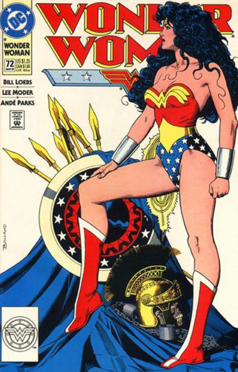Wonder Woman Volume 2 #72