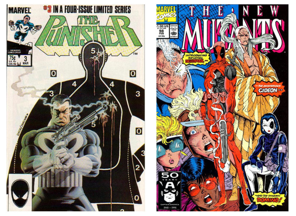 Punisher Mini Series #3 ------------ New Mutants #98