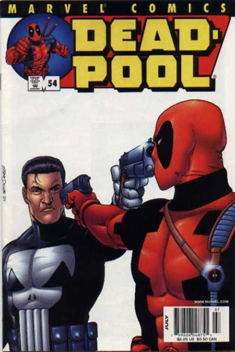 Deadpool #54 (Punisher vs Deadpool)