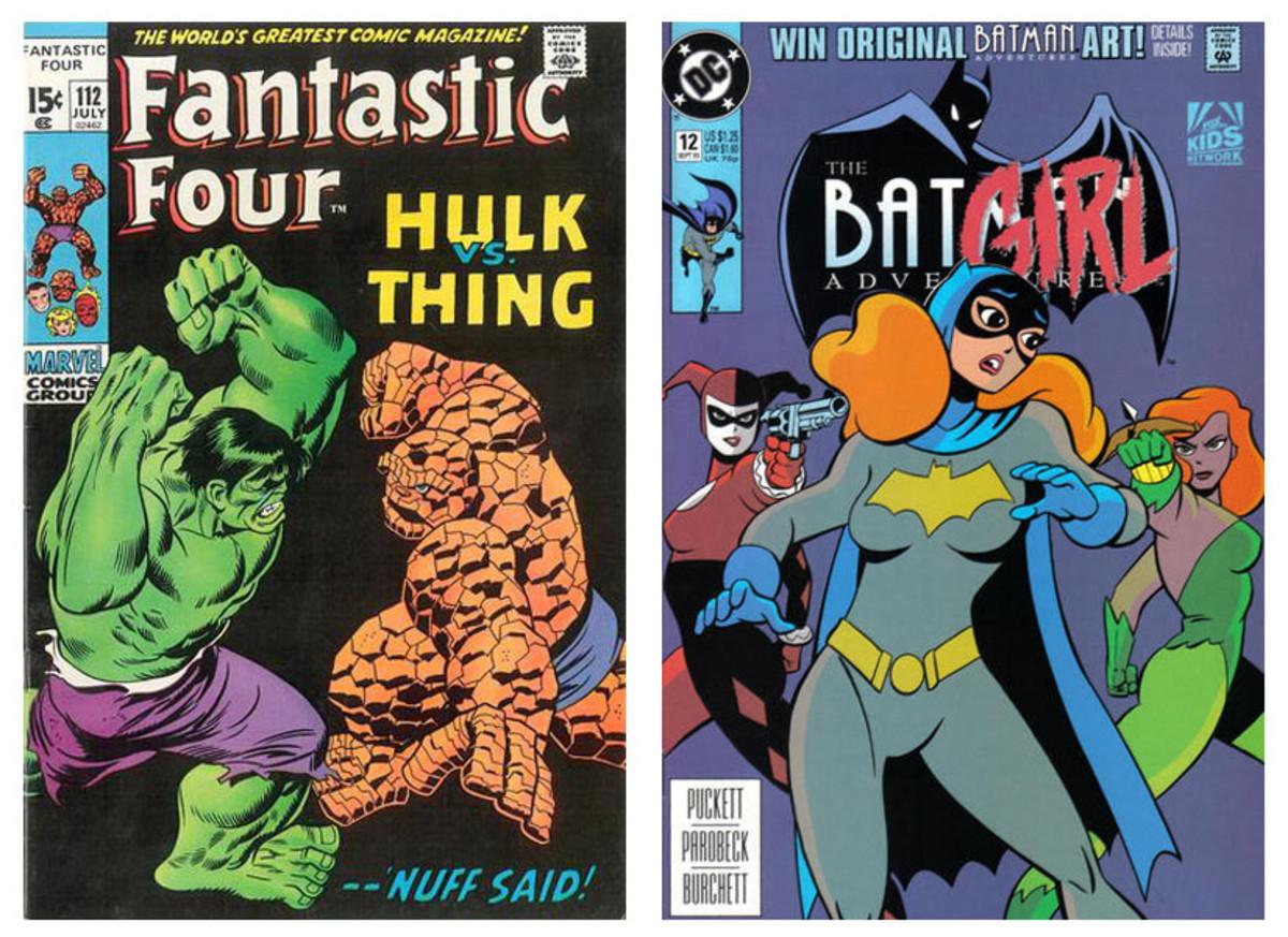 Fantastic Four #112 --------------- Batman Adventures #12