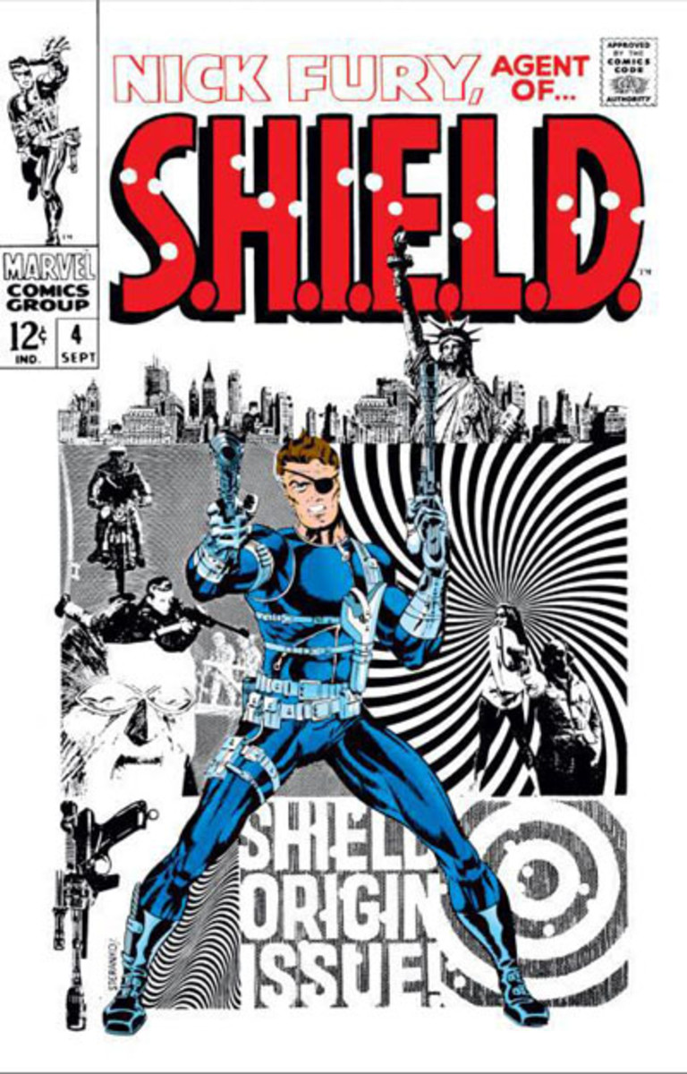 Nick Fury Agent of Shield #4