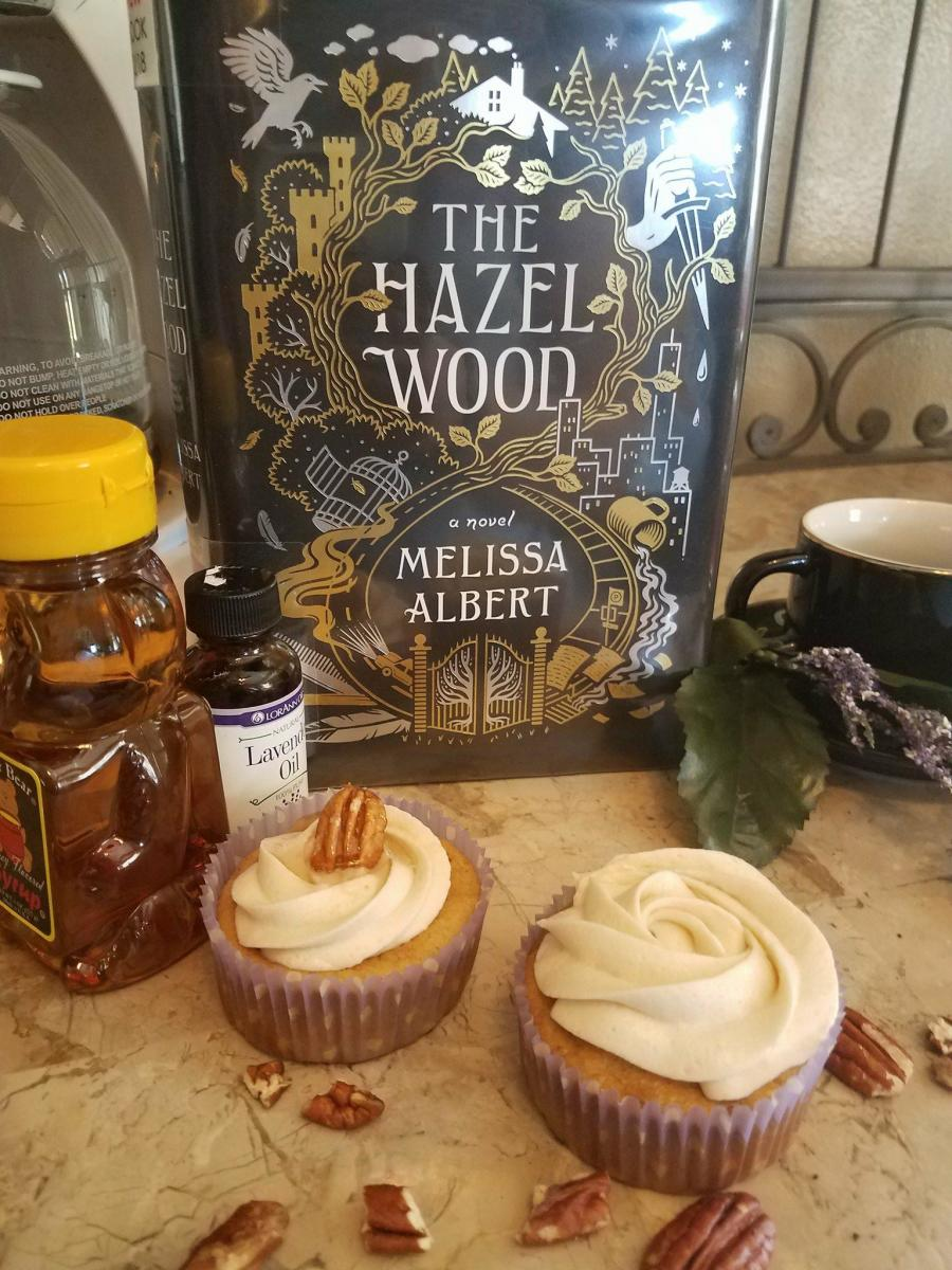 """The Hazel Wood"" Book Discussion and Butter Pecan Cupcakes Themed Recipe"