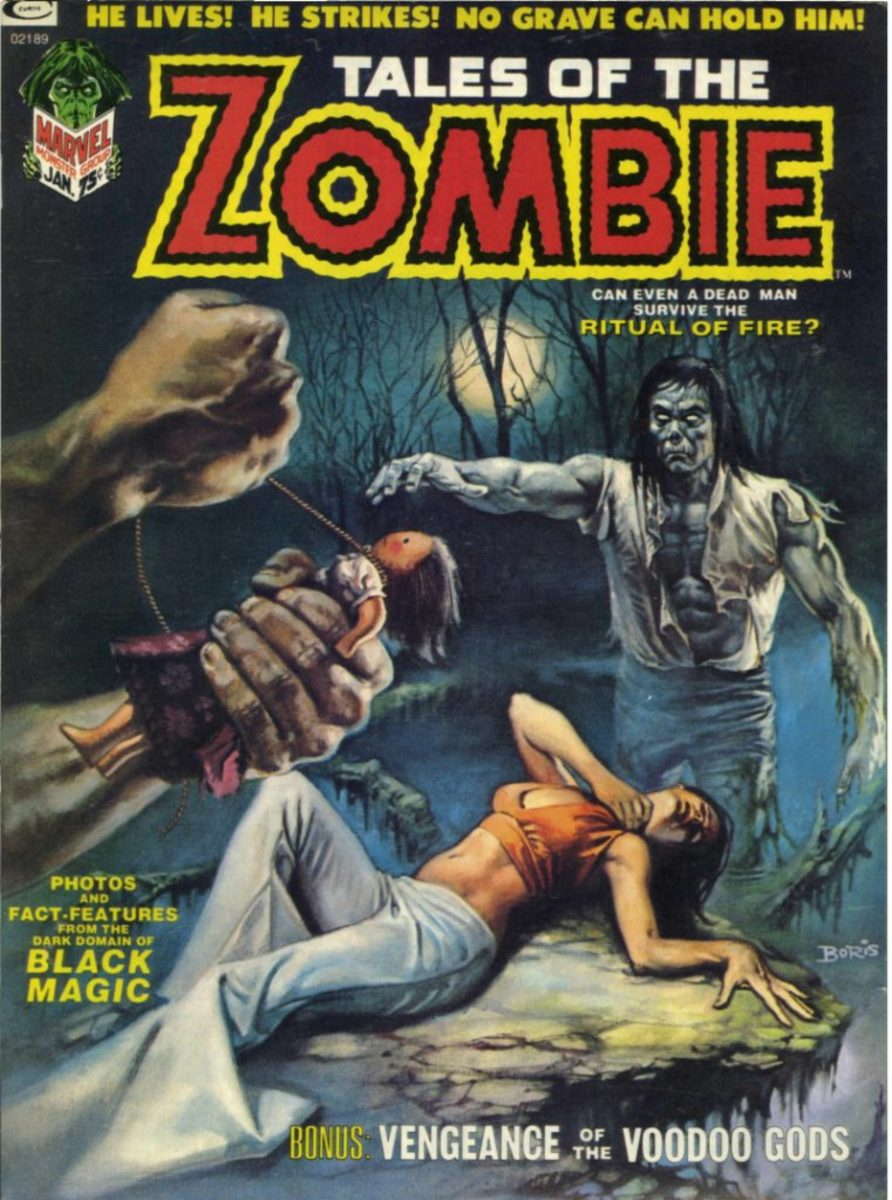 Marvel's Zombie was the precursor to Marvel Zombies.