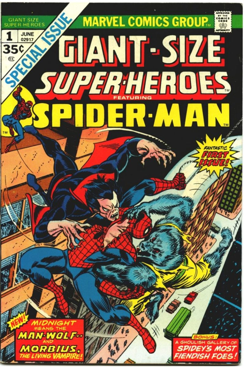Michael Morbius and the Man-Wolf made way for science-made Marvel monsters.