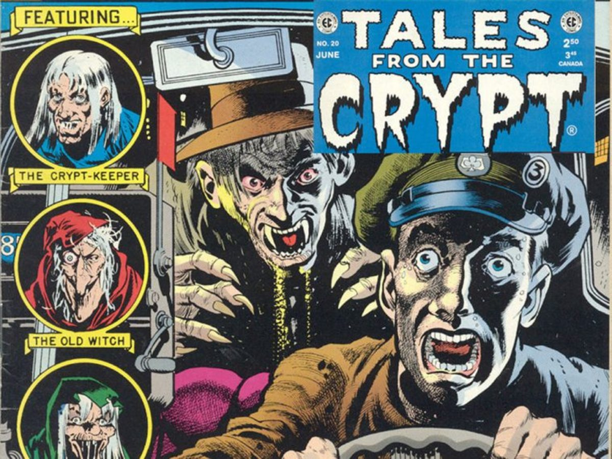 EC's Best Selling Titles included the classic Tales from the Crypt.