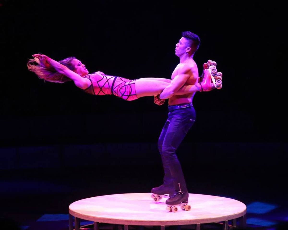 Dandino Garcia and Luciana Thais Hasenauer (Garcia); Big Apple Circus