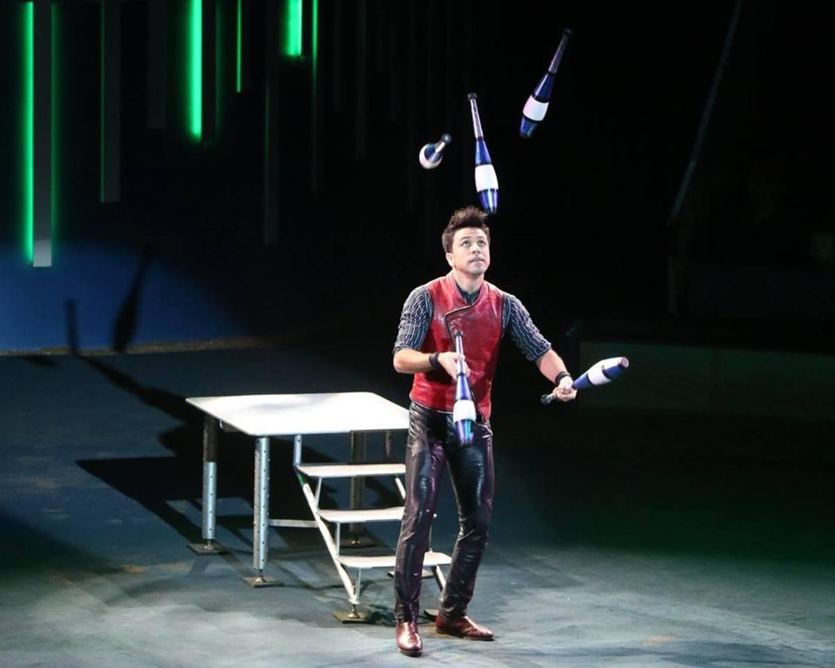 Gamal Garcia; Big Apple Circus