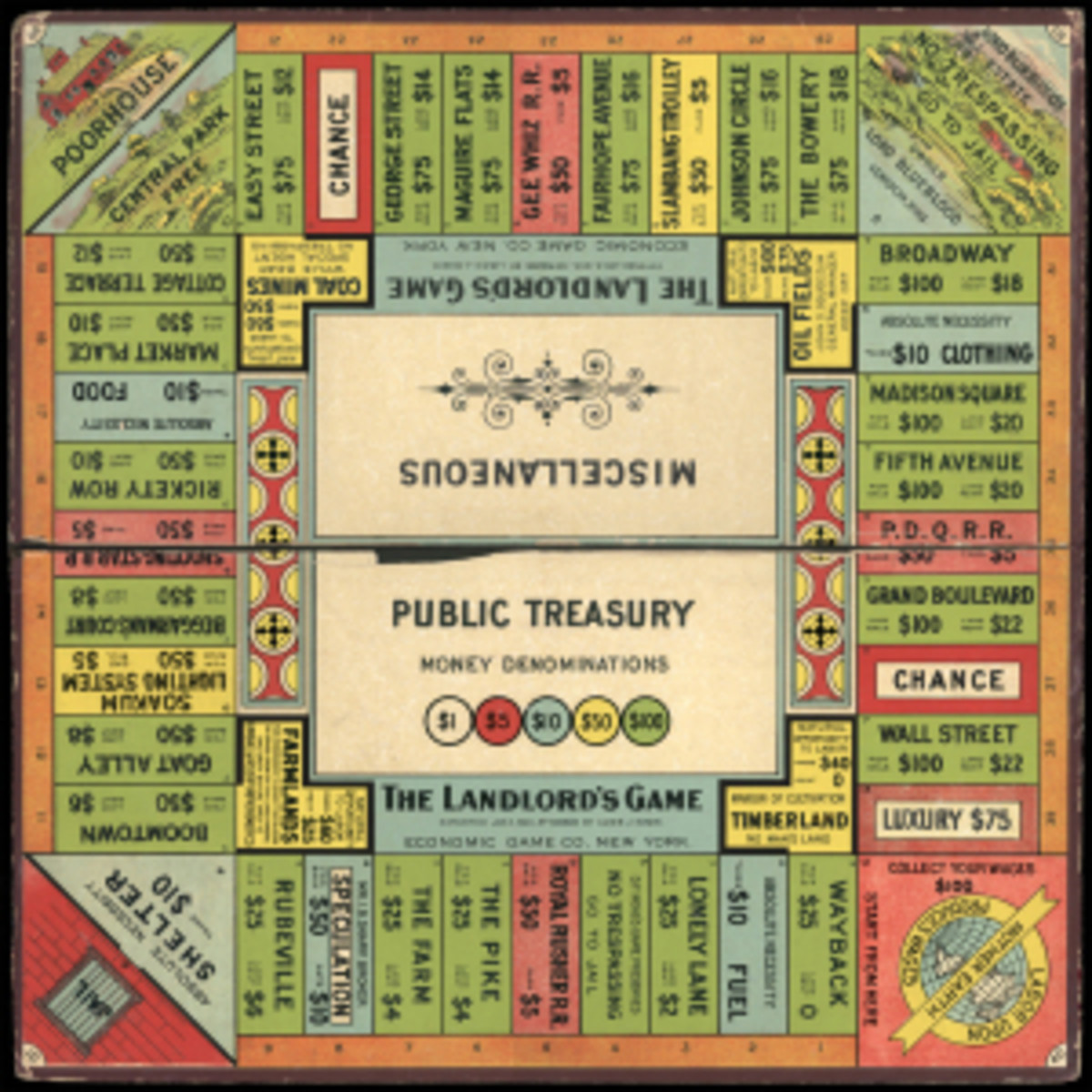 1904 version of The Landlord's Game.