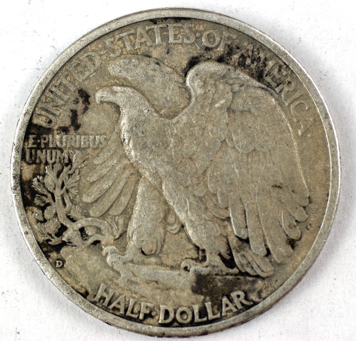 1943 half dollar found after many searches.