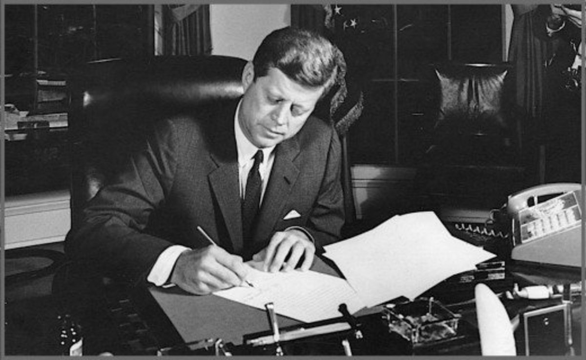 JFK signed tens-of-thousands of autographs during his lifetime, but this was one letter he refused to sign. Today a JFK autograph on a card can sell for $1,000 or more.