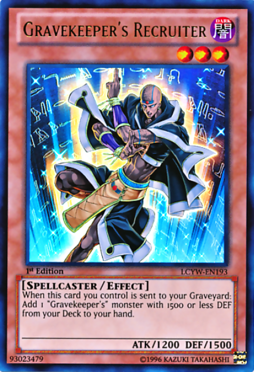 Top 10 Cards You Need for Your Gravekeeper's Yu-Gi-Oh Deck