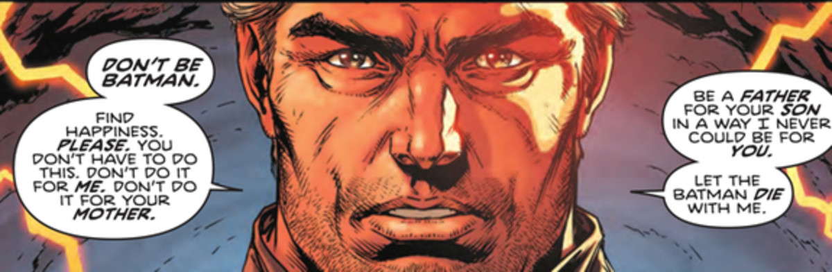 Panel from Batman #22  with art by Jason Fabok