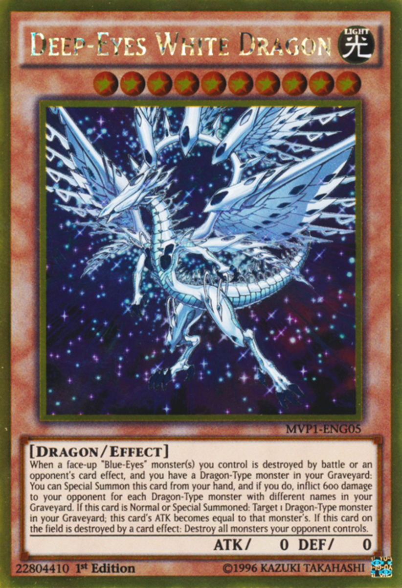 Deep-Eyes White Dragon