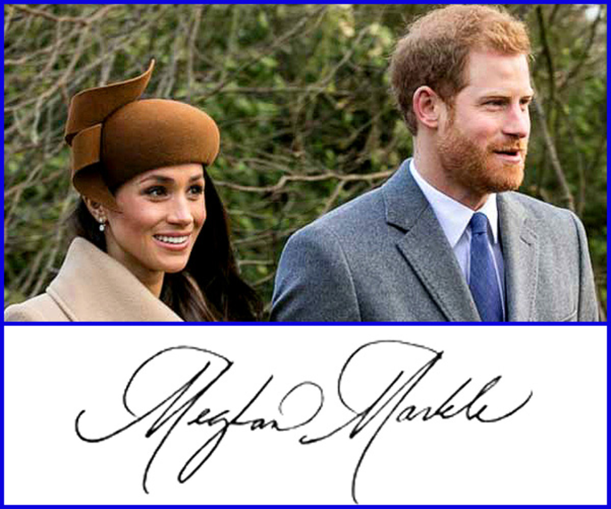 Meghan Markle and Prince Harry.  Her autographs are now selling for as much as $600.  If you wanted to add a Meghan Markle autograph to your collection and wrote to her asking for one, the odds of receiving a genuine autograph are very, very low.