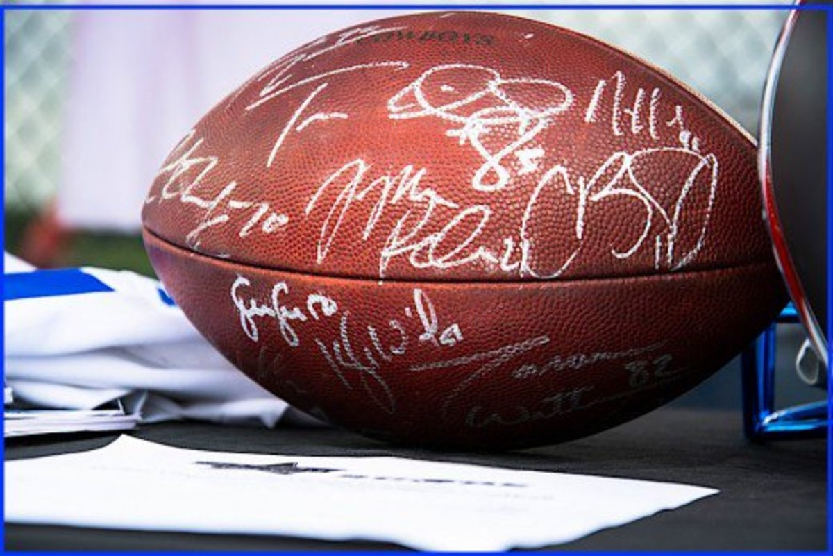 Some of the most commonly forged autographs are those of professional athletes.  Buyers should only deal with reputable and established autograph dealers.