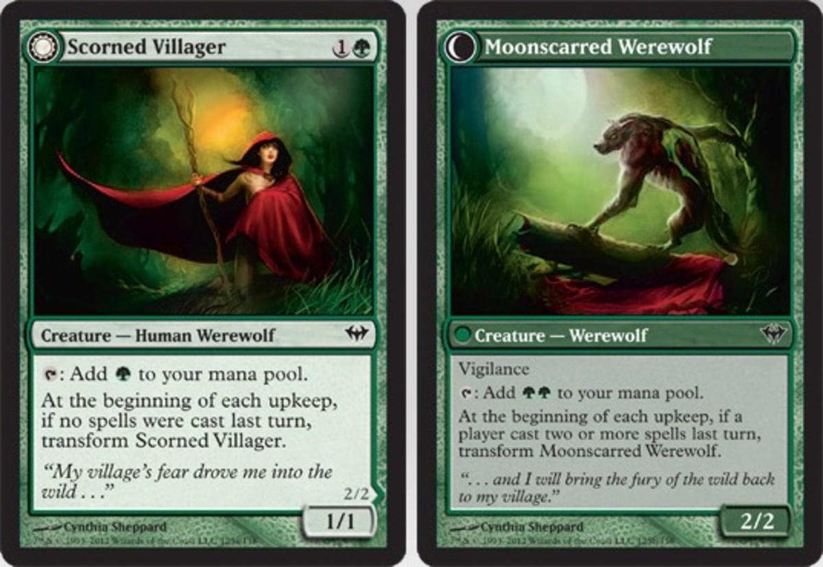 Scorned Villager/Moonscarred Werewolf