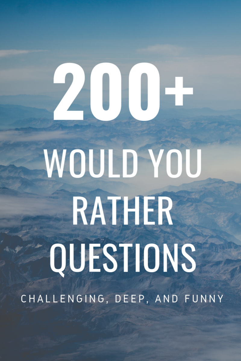 The Only List of Would You Rather Questions You'll Need