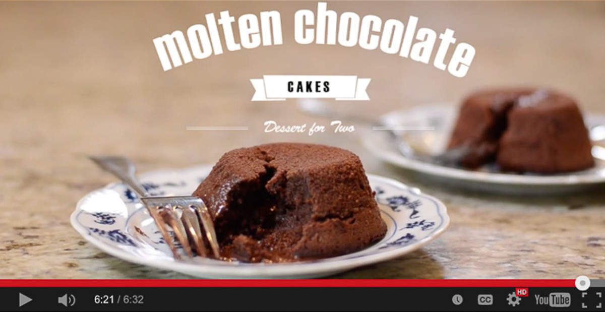 In 1997, molten chocolate cake was a crowd-pleaser.