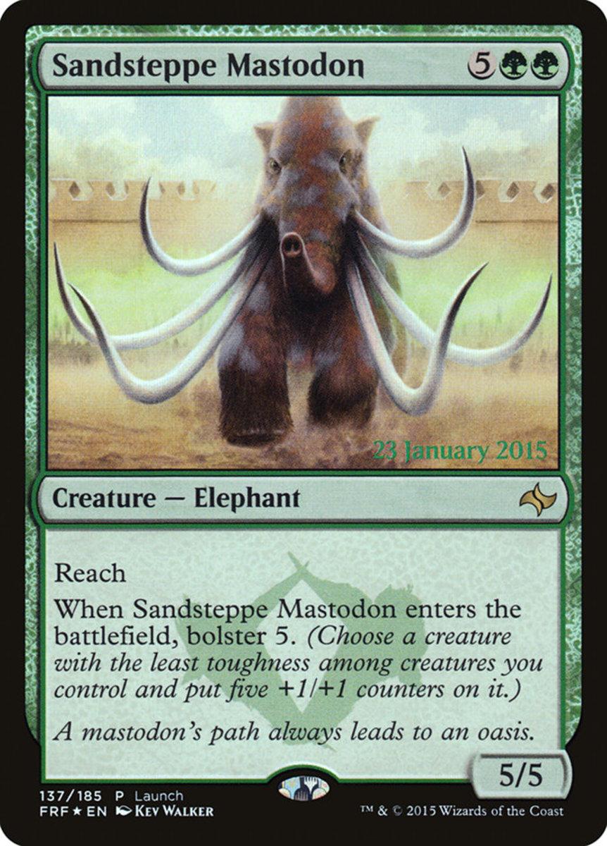 Sandsteppe Mastodon