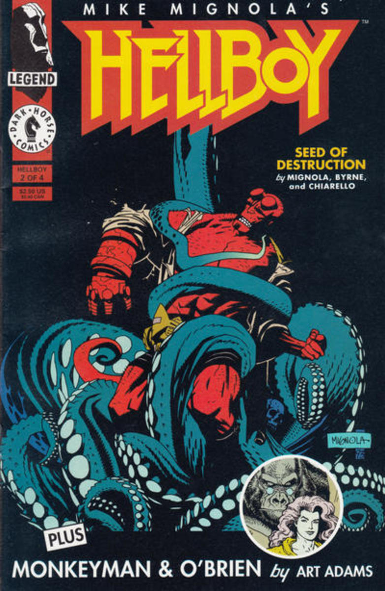Cover to Hellboy: Seed of Destruction #2